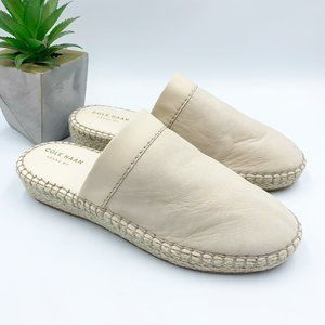 Cole Haan NEW Cloudfeel Espadrille Slides